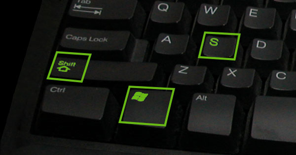 From The Onenote Blog - Windows 8 1 And The Win S Shortcut Key